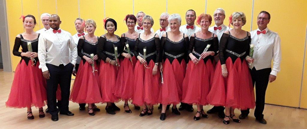 Groupe de la formation de danse du mardi ESCHAU