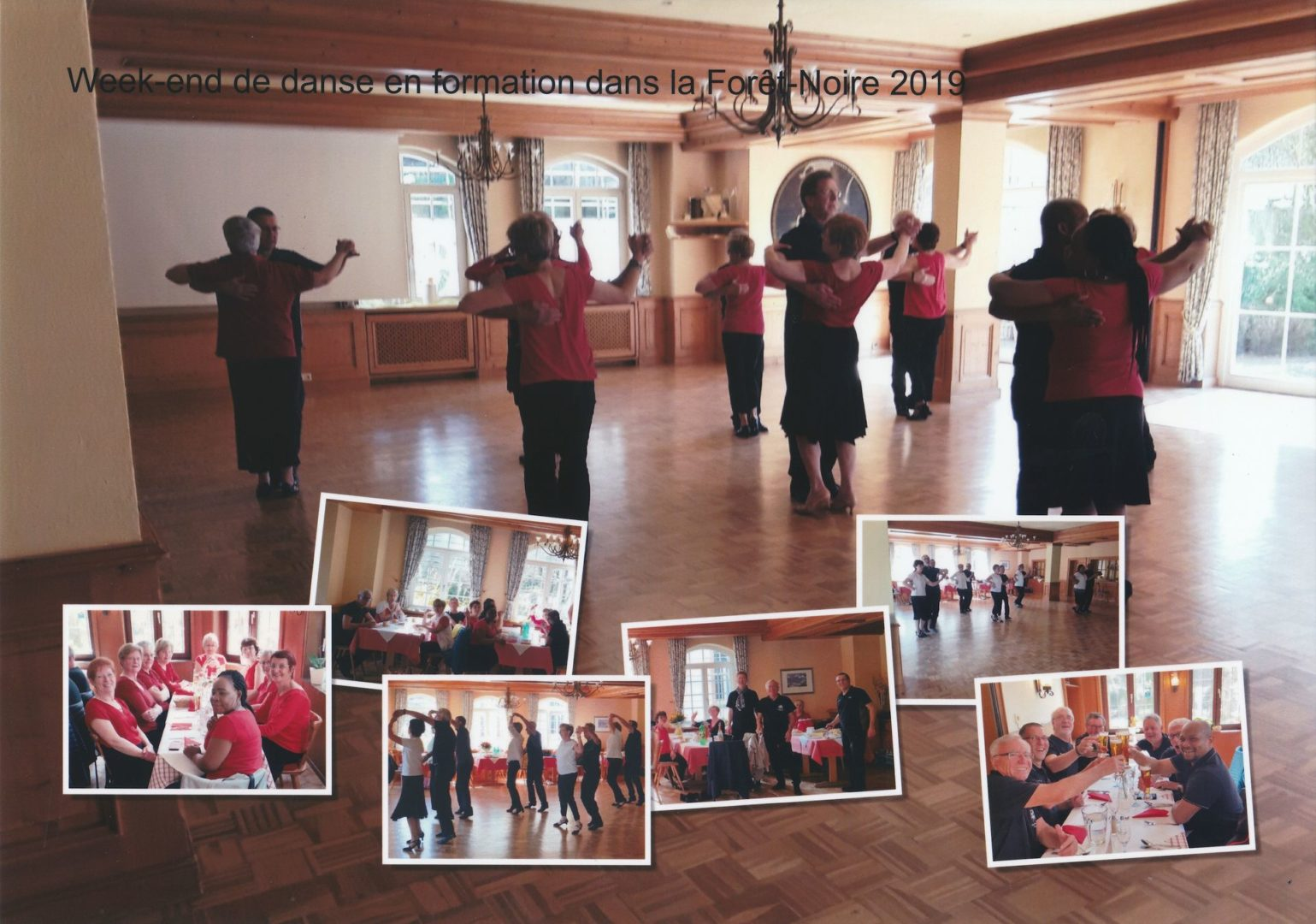 Week-end de travail de la formation de danse d'Eschau