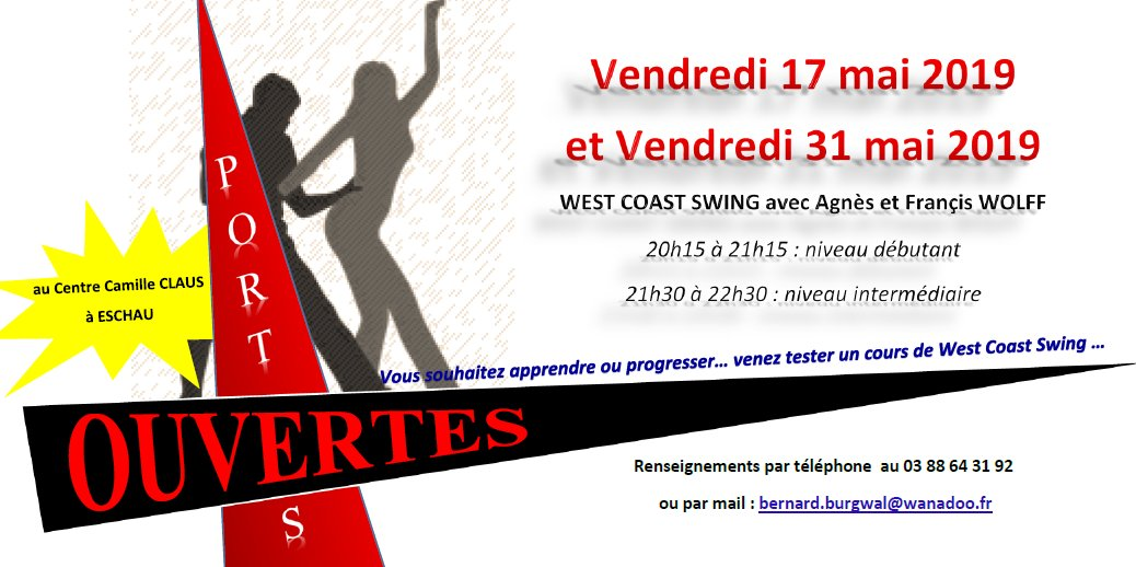 Portes ouvertes West Coast Swing