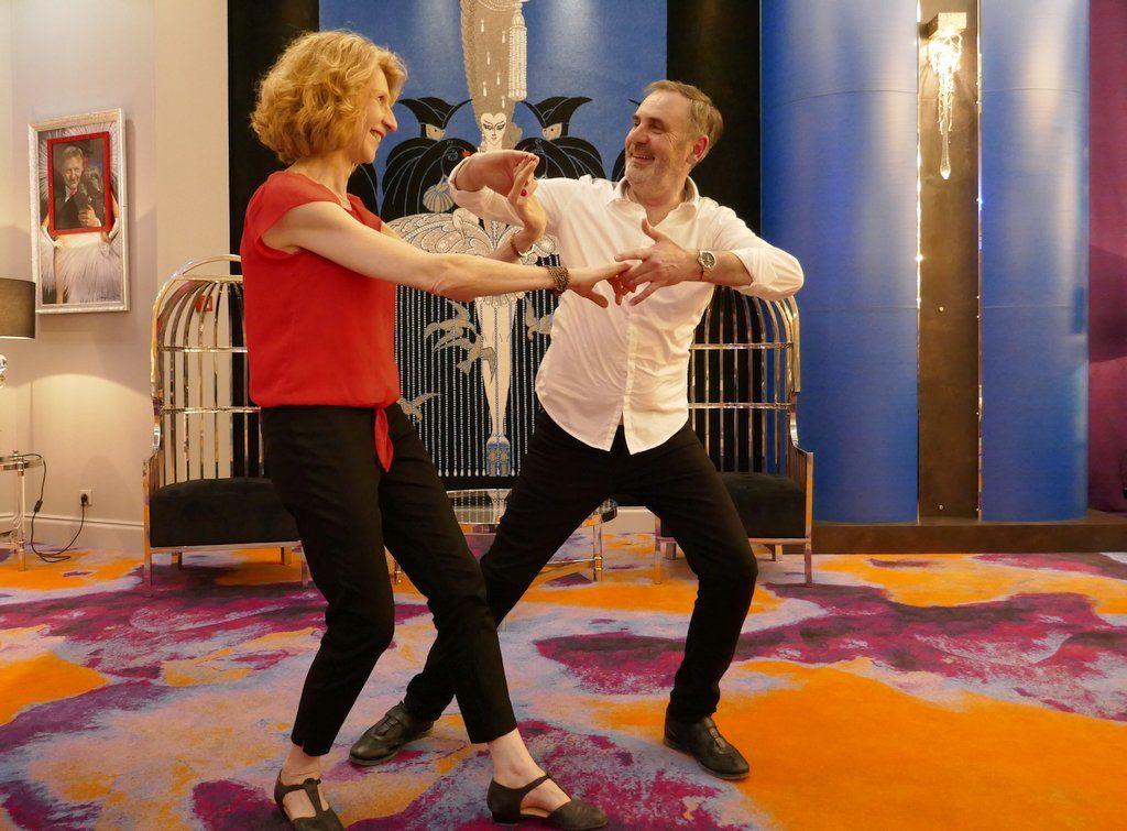 WCS ( West Coast Swing ) Agnès et Francis, prof de danse du club d'Eschau region de Strasbourg