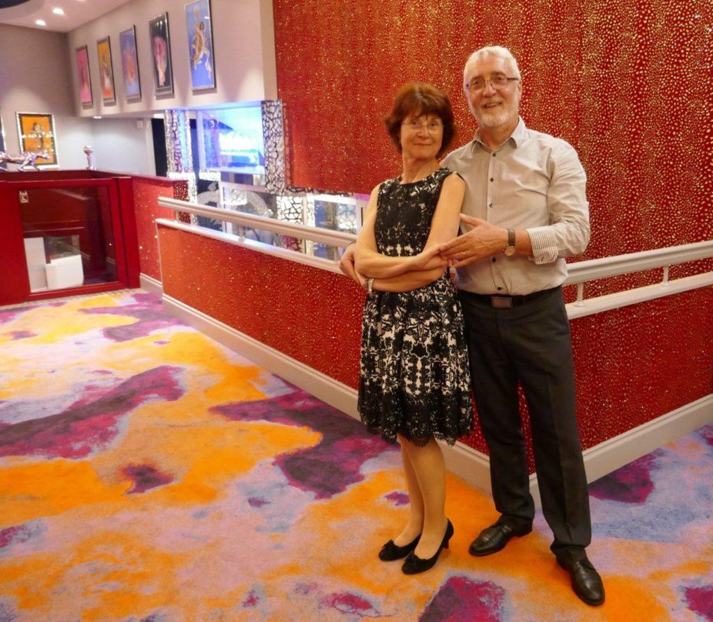 Véronique et Philippe GENIN, prof de danse du club d'Eschau