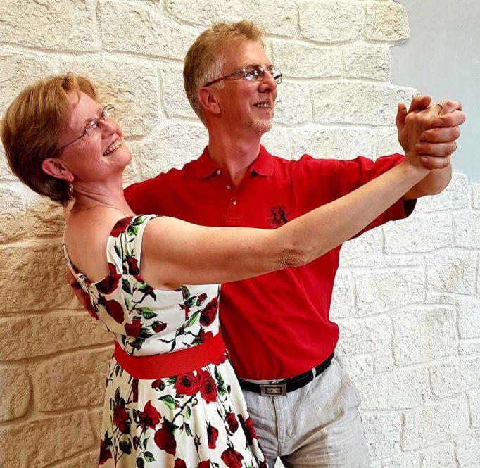 Nicole et Bernard BURGWAL, prof de danse du club d'Eschau